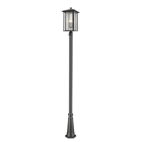 Hungate 3-Light Outdoor Lamp Post by Bloomsbury Market