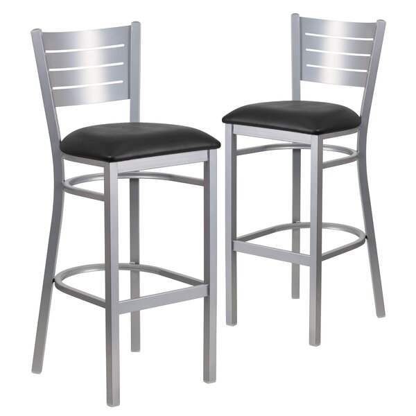 Alvera 31 Bar Stool (Set of 2) by Ebern Designs