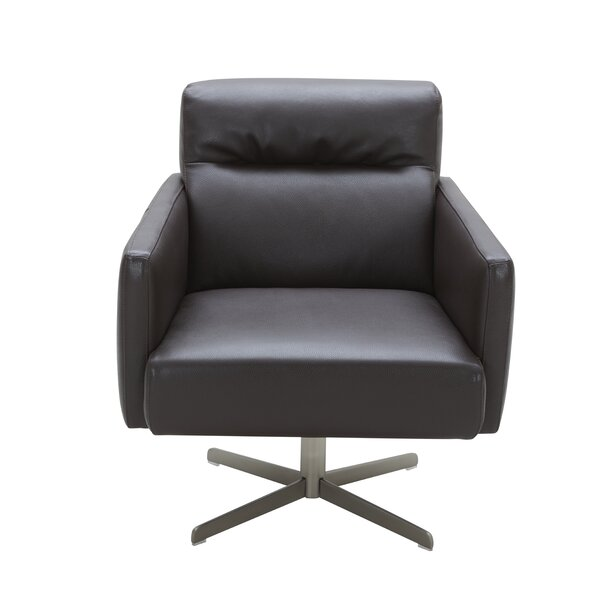 Liner Swivel Lounge Chair by Orren Ellis