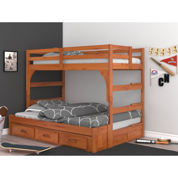Guillelmina Twin Over Full Bunk Bed with Drawers by Birch Lane™ Heritage