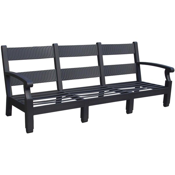 Manhattan Aluminum Garden Bench by California Outdoor Designs