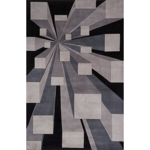 Rita Hand-Tufted Gotham Area Rug by Wrought Studio