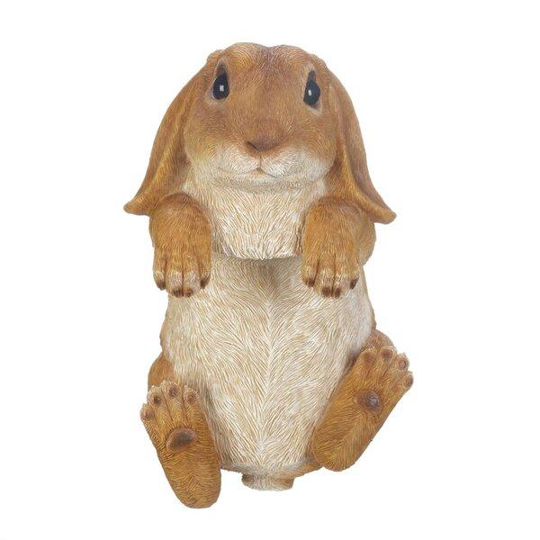 Schell Climbing Golden Bunny Buddy Figurine by August Grove
