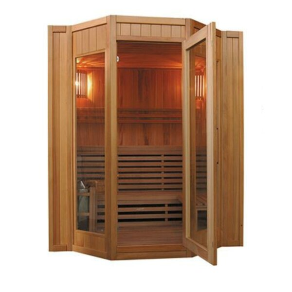 Tiburon 4 Person Traditional Steam Sauna by SunRay Saunas