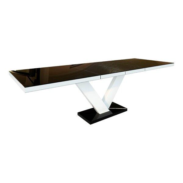 Borges Extendable Dining Table by Orren Ellis