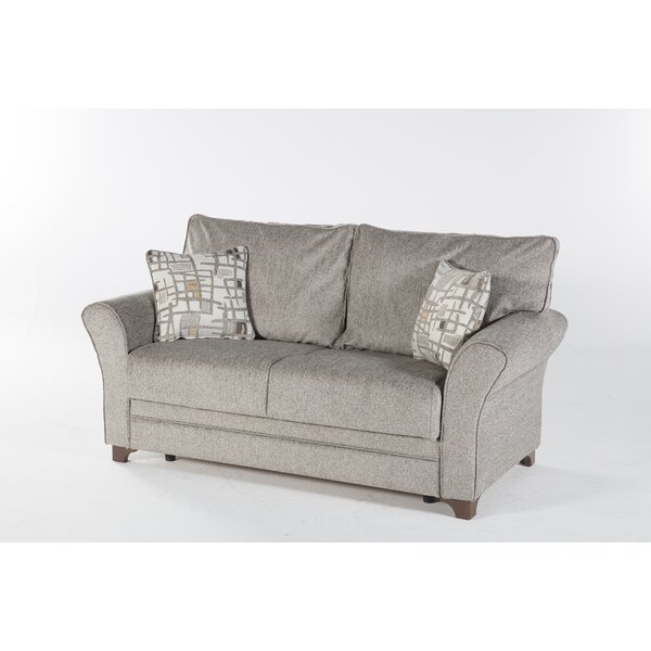 Modern Style Youngquist Sleeper Love Seat by Red Barrel Studio by Red Barrel Studio
