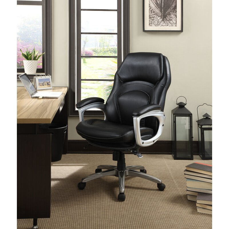 Serta At Home Back In Motion Health And Wellness Executive Chair Reviews Wayfair