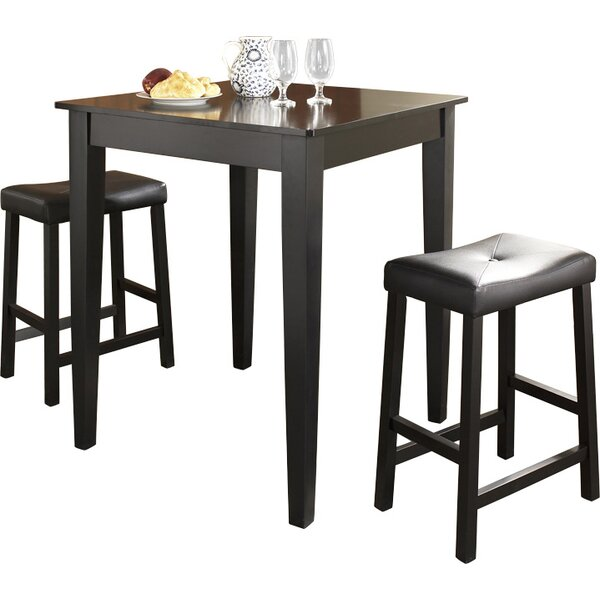 Haslingden 3 Piece Pub Table Set By Three Posts Amazing