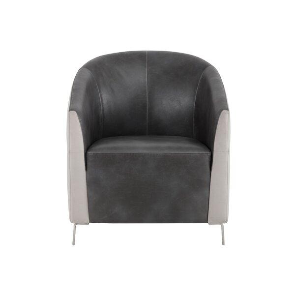 5West Bronte Barrel Chair by Sunpan Modern