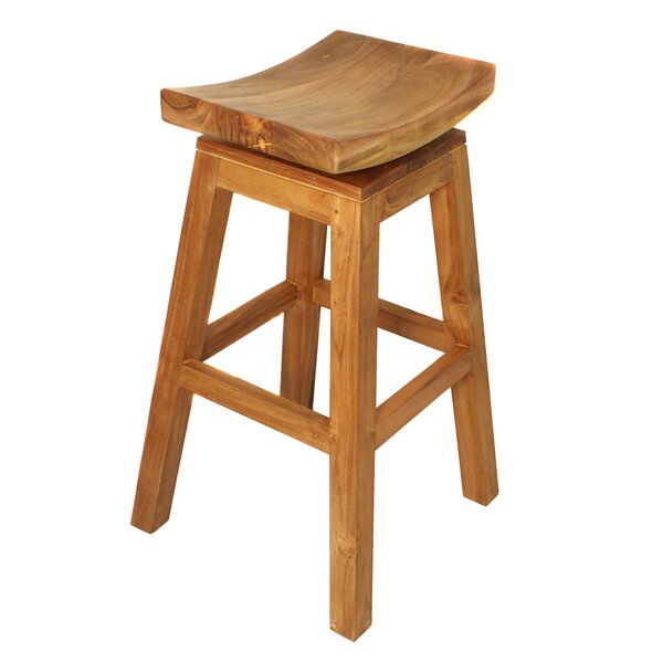 Urban Designs 30 Swivel Bar Stool by EC World Imports