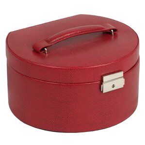 Heritage Round Jewelry Box with Travel Case by Wildon Home ?