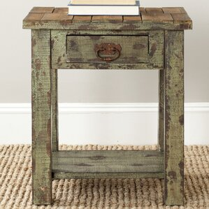 Alfred End Table by Safavieh