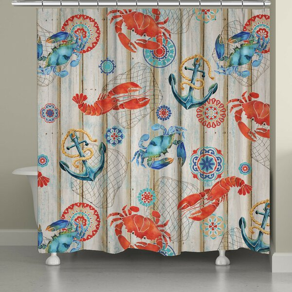 Asher Shower Curtain by Longshore Tides