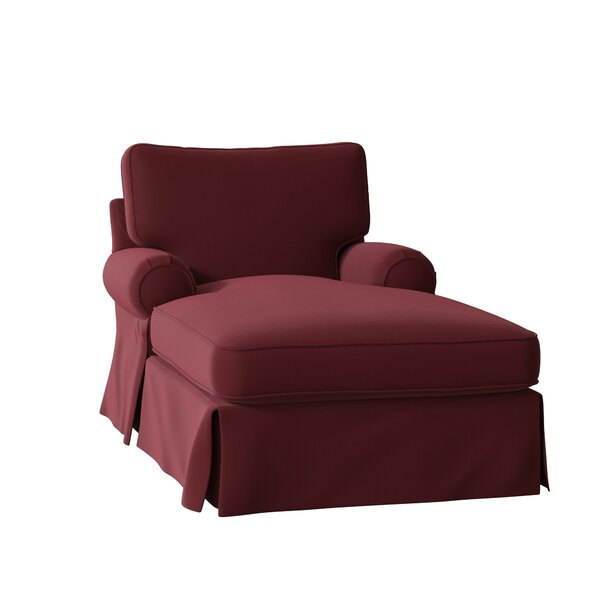Lily Slipcovered Chaise Lounge by Wayfair Custom Upholstery��