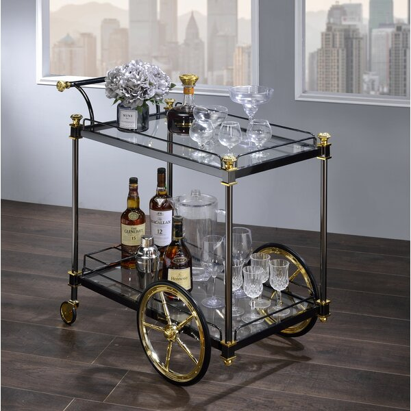 Torpoint Bar Cart by Everly Quinn
