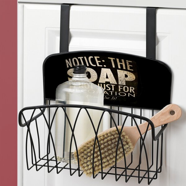 Soap Is Not Just for Decoration Over the Door Organizer by Stupell Industries