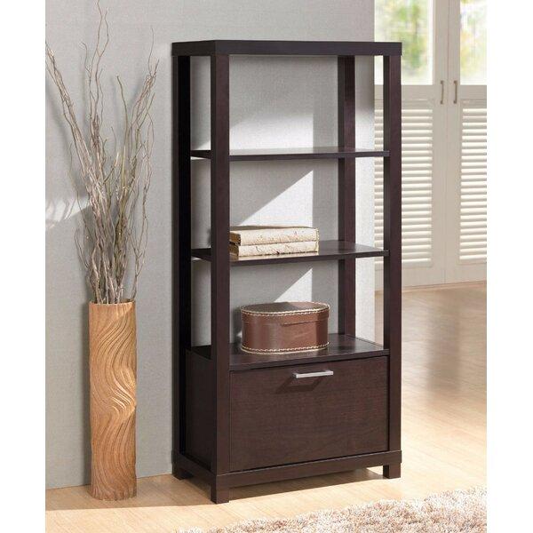 Gilson Wooden Standard Bookcase by Ebern Designs