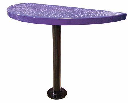Modena Metal Bar Table by Leisure Craft Leisure Craft