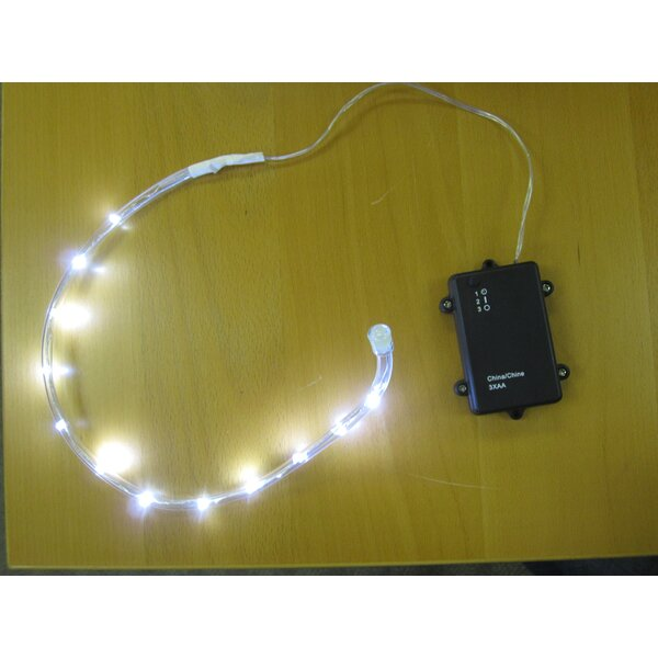 Battery Operated LED 18 Light Rope Light (Set of 4) by The Holiday Aisle