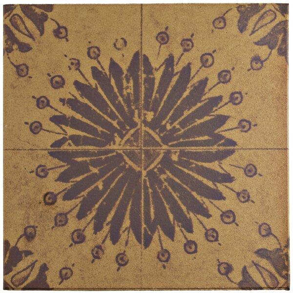 Shale 12.75 x 12.75 Ceramic Field Tile in Beige/Brown by EliteTile