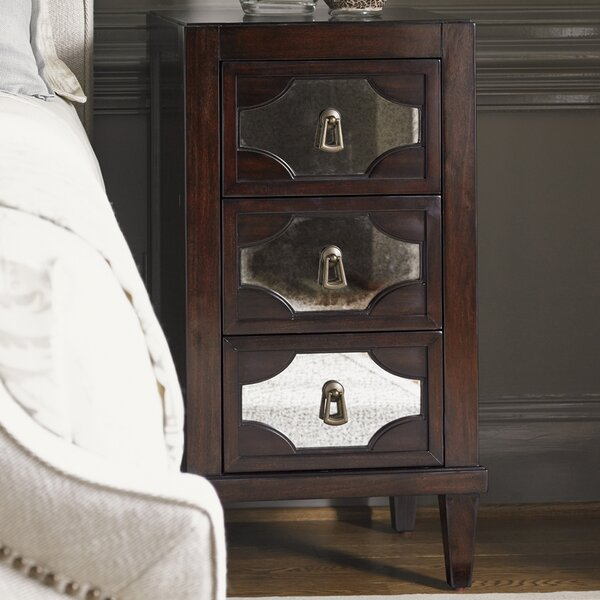 Kensington Place 3 Drawer Nightstand by Lexington