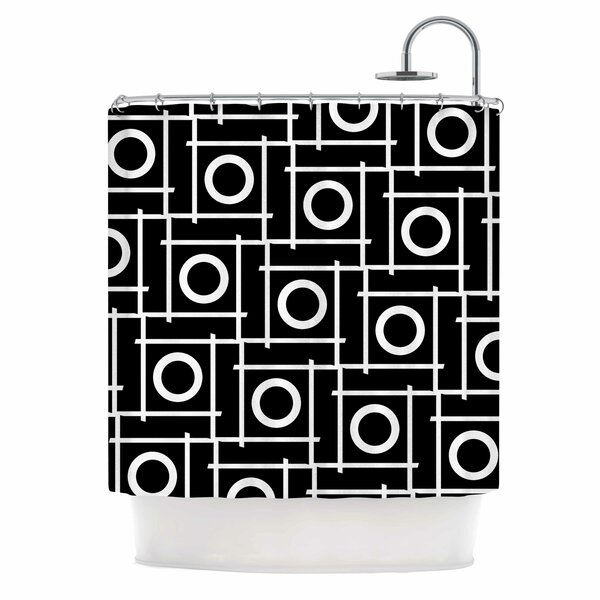 Unutra by Trebam Shower Curtain by East Urban Home