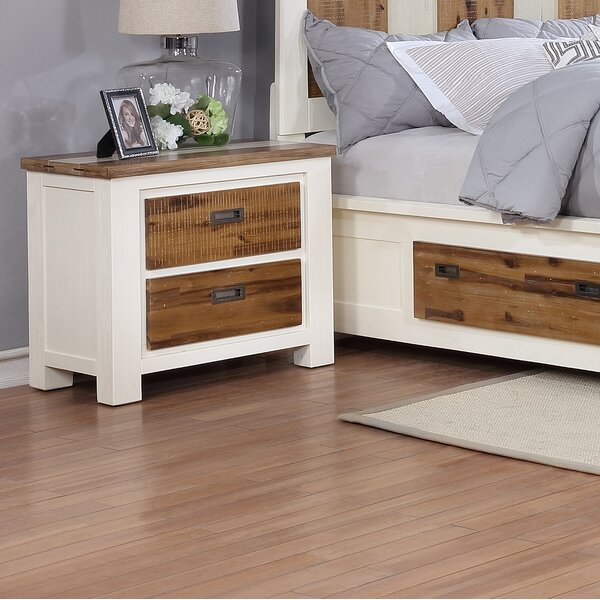 Favela 2 Drawer Nightstand by Millwood Pines