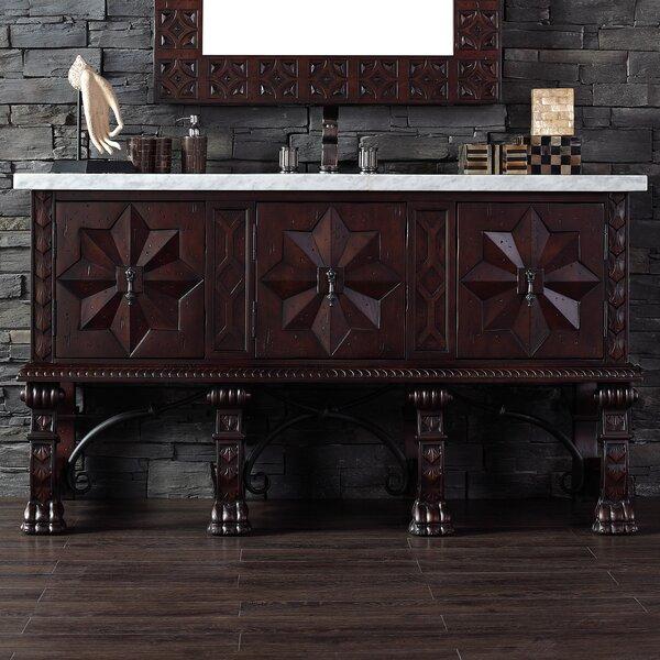 Avebury 60 Single Antique Walnut Bathroom Vanity Set by Astoria Grand