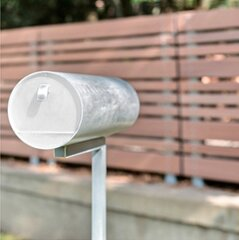 Aluminum Wall/Post Mounted Mailbox by Letter-Drop
