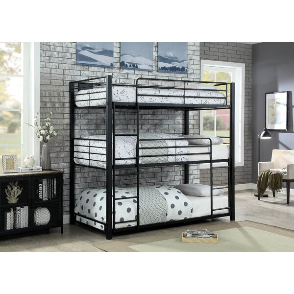 Fairfax Twin Triple Bunk Bed by Harriet Bee