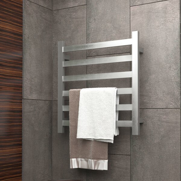Note Wall Mount Electric Towel Warmer By Anzzi.