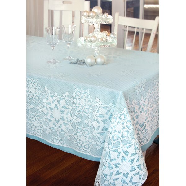 Glisten Rectangle Tablecloth by Heritage Lace