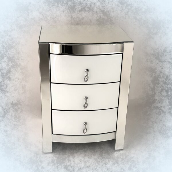 Neelyville 3 Drawer Nightstand by Rosdorf Park