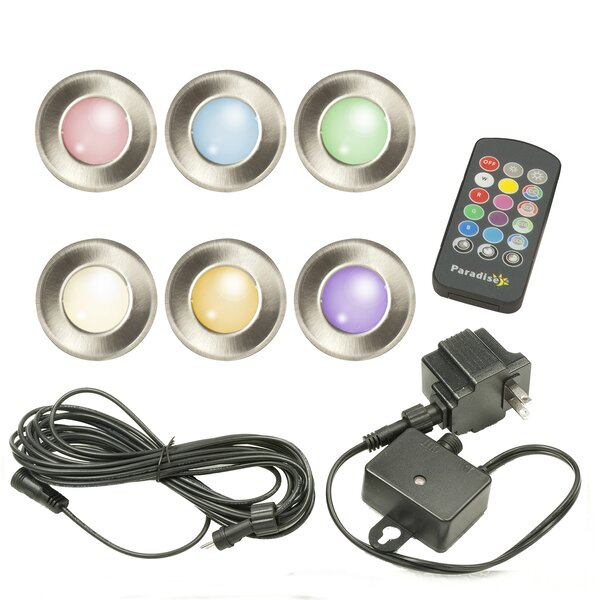 6 Light LED Deck Light (Set of 6) (Set of 6) by Pa