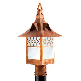 Compare prices Wentzel 1-Light Lantern Head By Millwood Pines