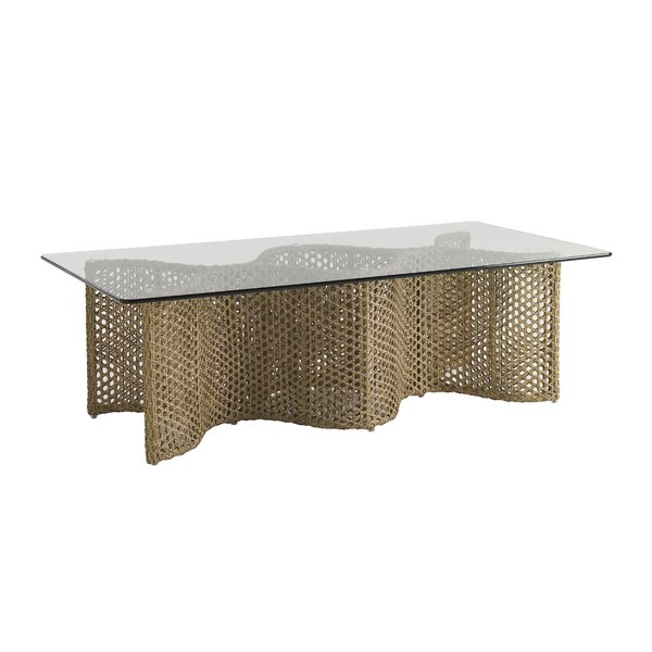 Aviano Wicker Coffee Table by Tommy Bahama Outdoor