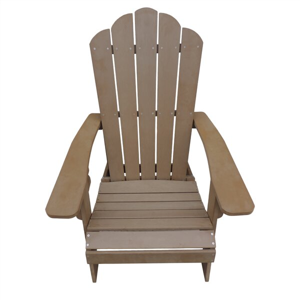 Ajinkya Plastic Adirondack Chair by Highland Dunes