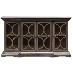 Belino Wooden 4 Door Accent Cabinet