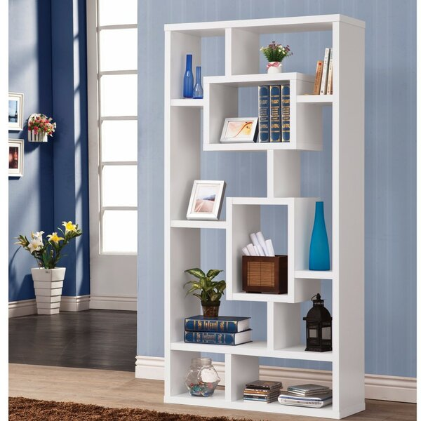 Cyrus Geometric Rectangular Cube Unit Bookcase by Wrought Studio