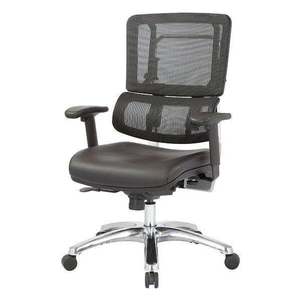 Pro-Line II Vertical Ergonomic Mesh Back Office Chair by Office Star Products