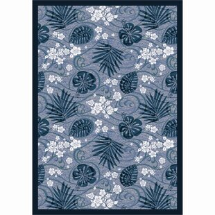 Big Save Blue/White Area Rug By The Conestoga Trading Co.