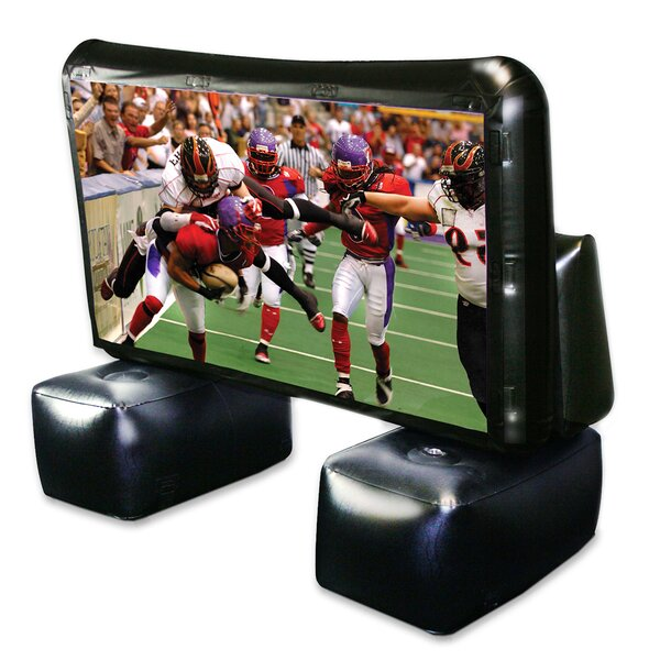 Inflatable White 72 Portable Projection Screen by Artistic Products