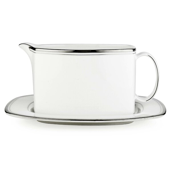 Library Lane Platinum Sauce Boat by kate spade new york