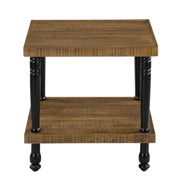 Chulmleigh End Table by Gracie Oaks