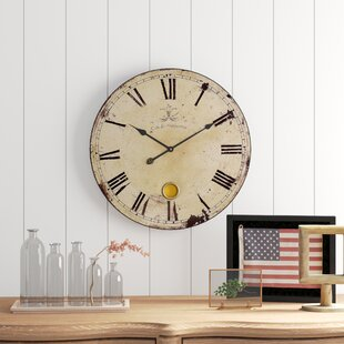 Horloges Murales Marque Gracie Oaks Wayfairca