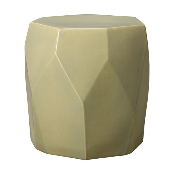 Nadelman Facet Garden Stool by Latitude Run