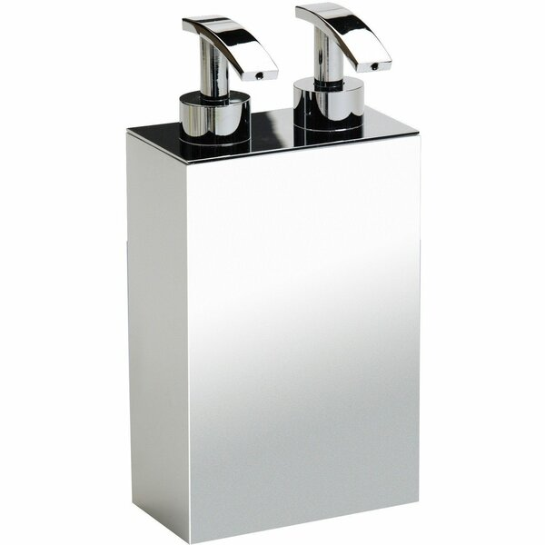 Sisler Double Pump Soap & Lotion Dispenser by Orren Ellis