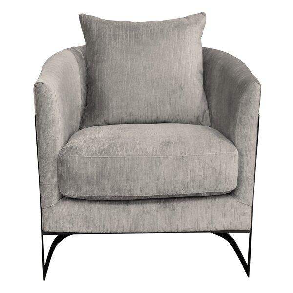 Bemott Barrel Chair by Brayden Studio