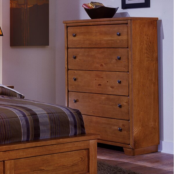 Chinn 5 Drawer Chest by Winston Porter