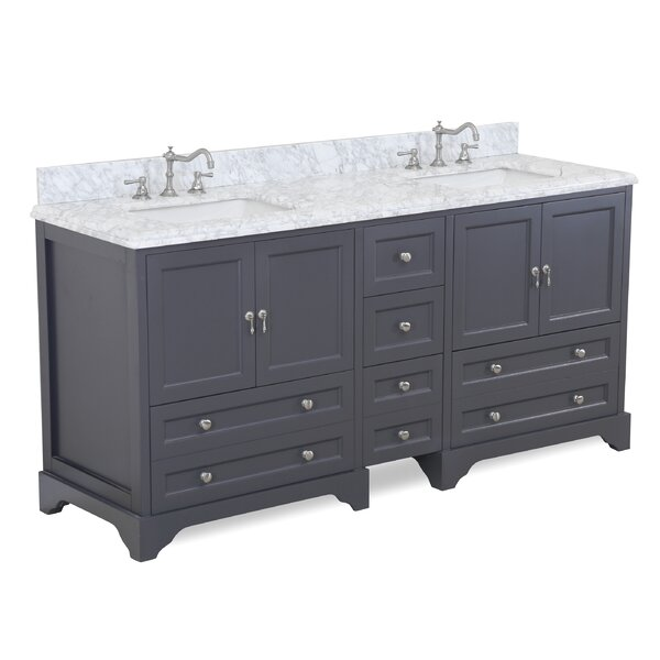 Madison 72 Double Bathroom Vanity Set by Kitchen B